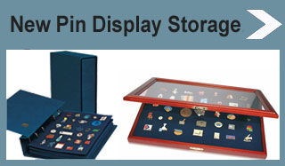 Pin Displays and Storage