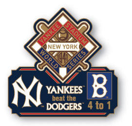 1923 World Series Commemorative Pin